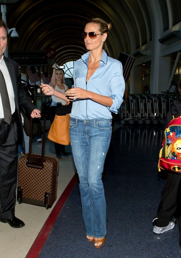 Heidi+Klum+seen+at+LAX+tFfalUwImmRx