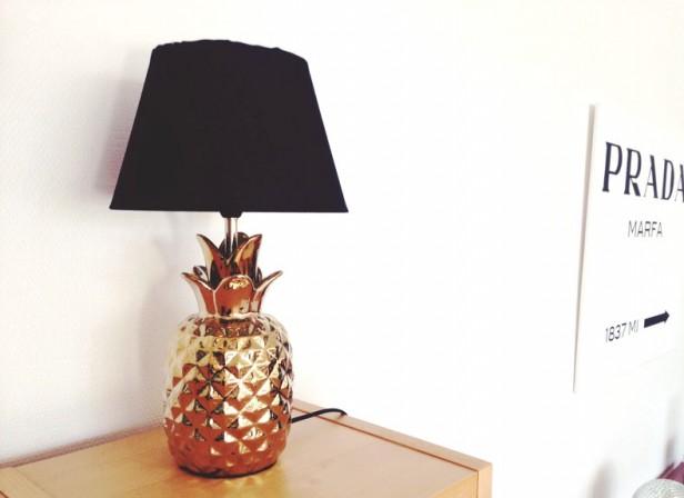 ananas-lampa