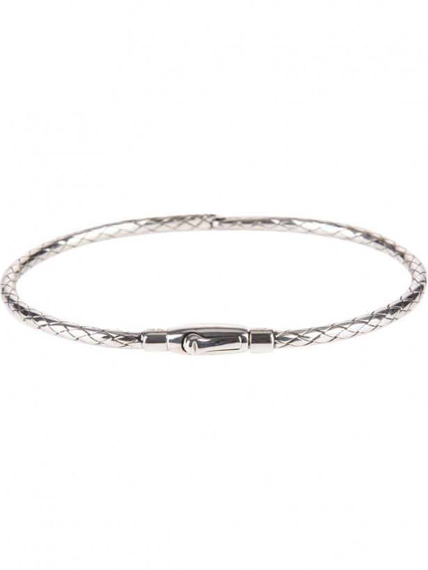 bottega_veneta_intrecciato_silver_bracelet