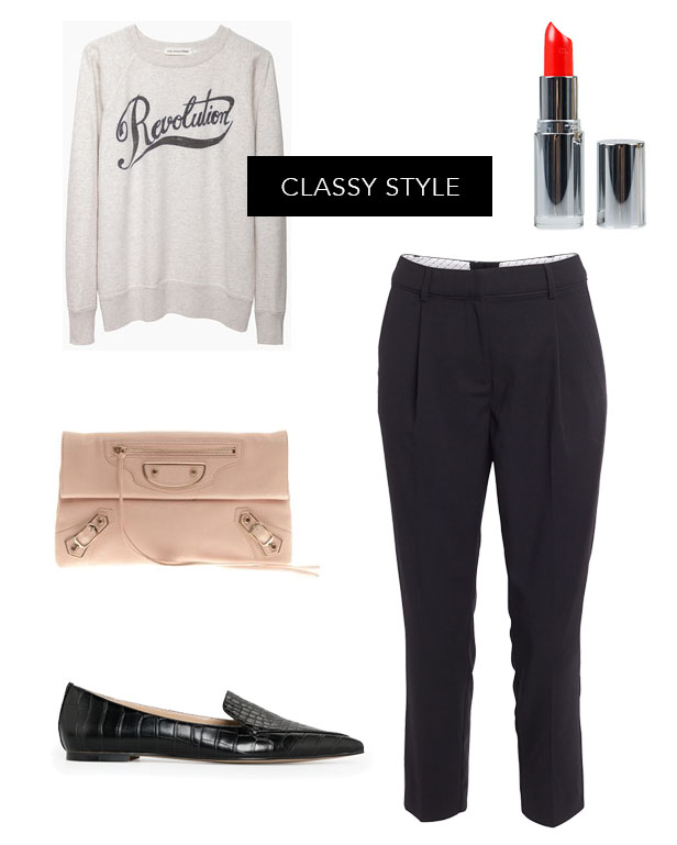 classy_style_soulcityguide_balenciaga_dressy_pants_flat_croco_shoes_red_lipstick