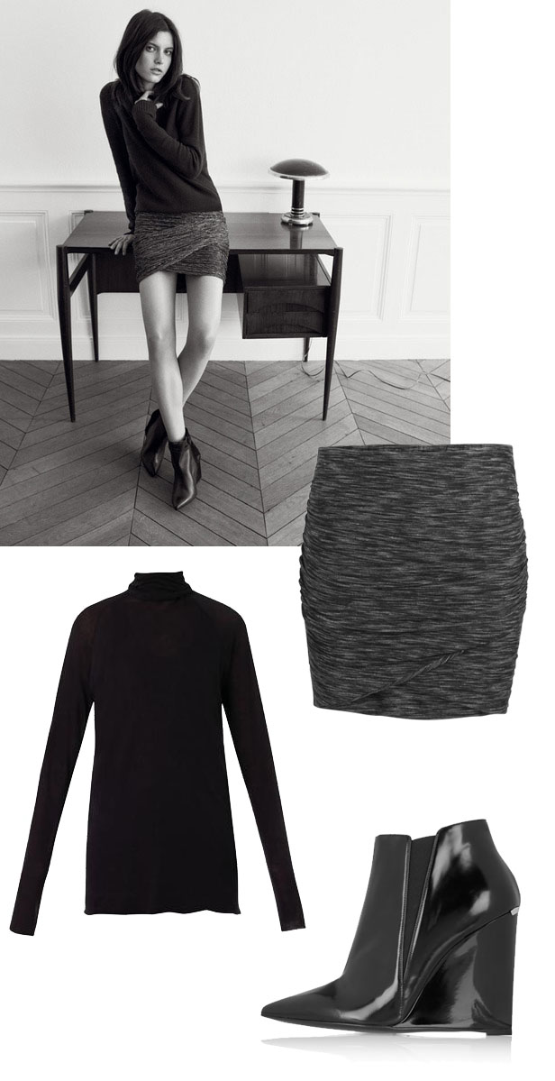 draped_skirt_wedge_ankle_boots_roll_up_knit