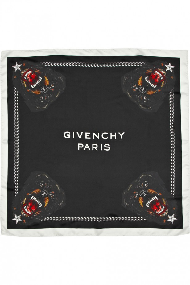 givenchy_Scarf_rotweiler