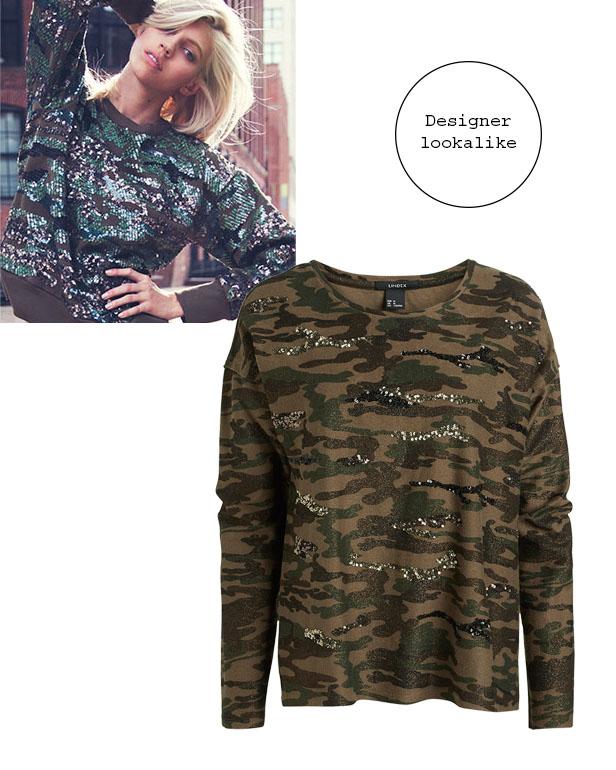 isabel_marant_camo_sequin_sweater_lindex_camouflage_sweatshirt_lookalike