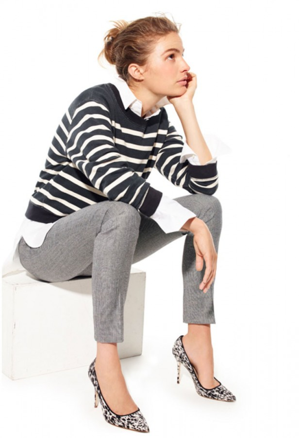 jcrew_striped_knit_white_shirt_leopard_pumps
