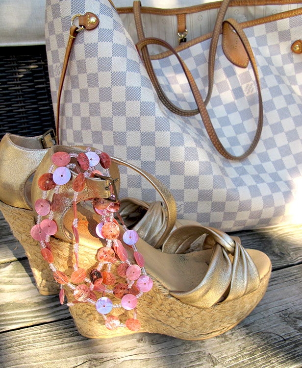 kors_michael_kors_wedges_louis_vuitton_neverfull_damier_canvas_pink_necklace_dhipt