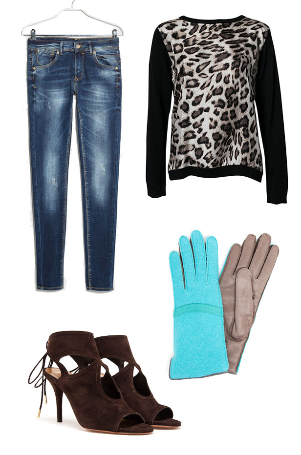 leopard_sweater_custommade_mango_jeans_aquazzura_suede_heels_gloves_handskar_brun_turkos