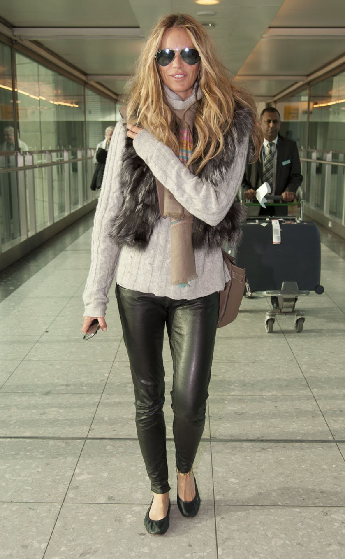 La Modella Mafia Elle Macpherson Fall 2012 Fur Style Icon Street Style 22 Soulcityguide