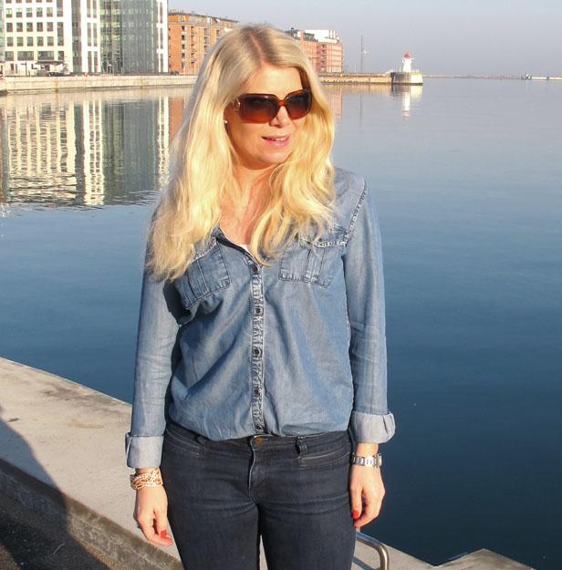 jeansskjorta-lindex