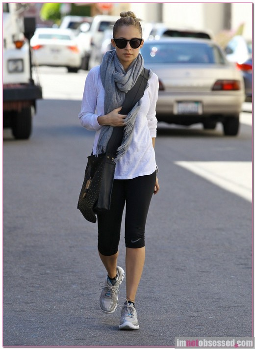 Nicole Richie Heads Out After A Work Out