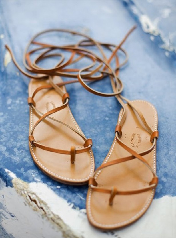 tan-leather-strappy-laceup-flats-sandals-summer-style-boho-chic