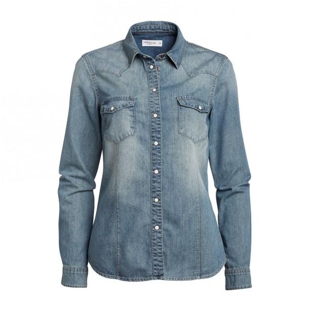 jeansskjorta_lindex