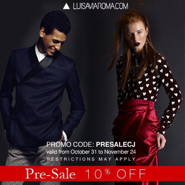 luisaviaroma_presale