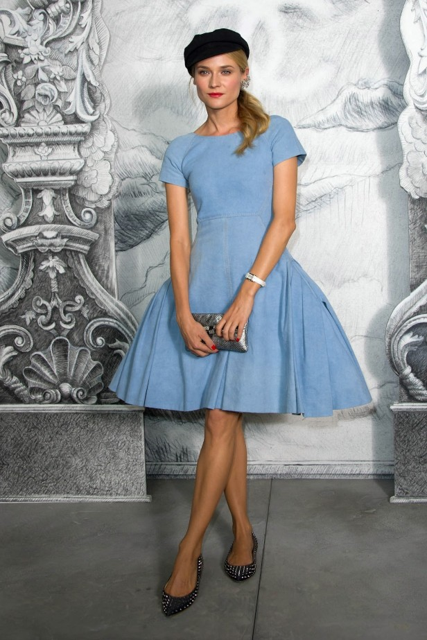 Diane-Kruger-Chanel-Denim-Dress