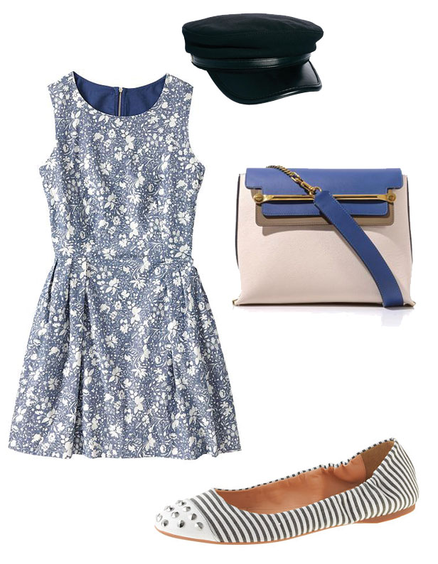 flower_dress_gap_ballerina_j_crew_bag_chloe2