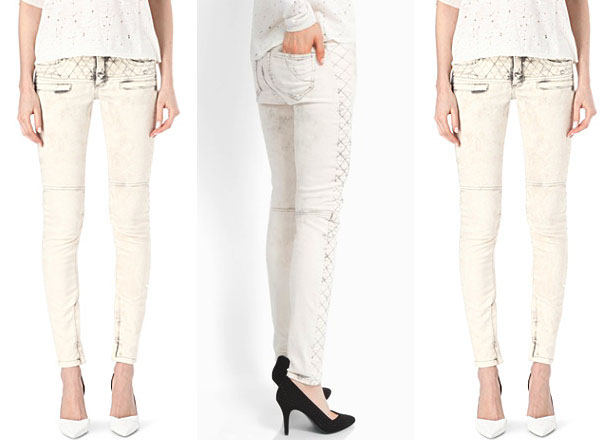 maje_Super-skinny mid-rise jeans_ecru