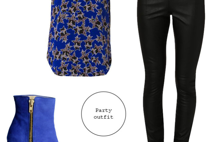 cobalt_blue_ankle_boots_skinny_leather-imitation-pants-dvf-silk-top