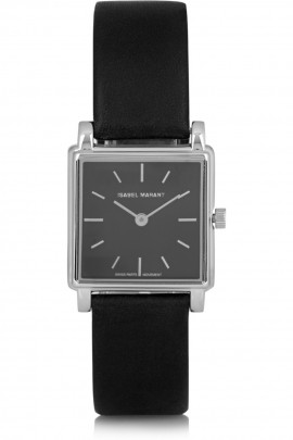 isabel_marant_stainless_steel_and_leather_watch