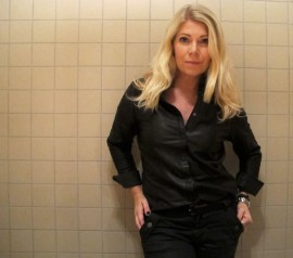 leather shirt and jeans from denim_hunter