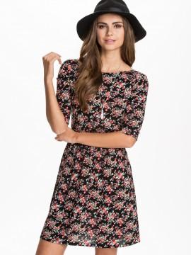 nelly flower dress 100kr