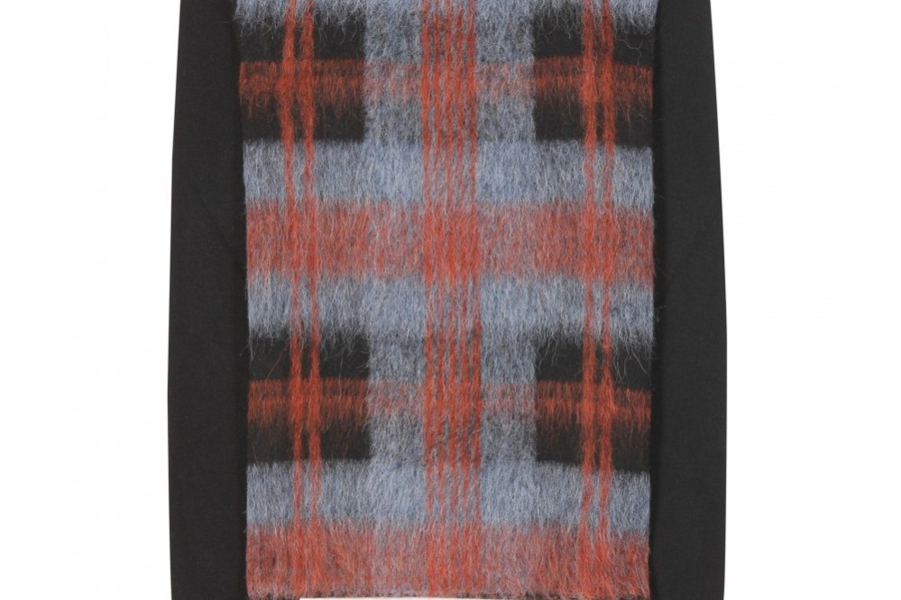 My Theresa Advent Calendar McQ Alexander McQueen plaid wool sweater 30% off
