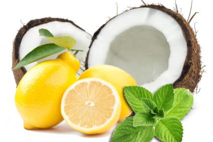 Citron och kokos detox