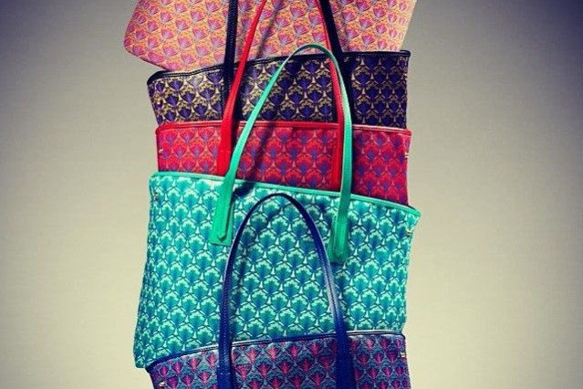 Liberty London Tote bags in different colors