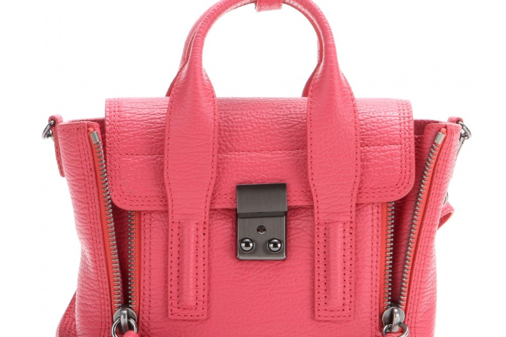 Red Mini Pashli bag from 3.1 Phillip Lim