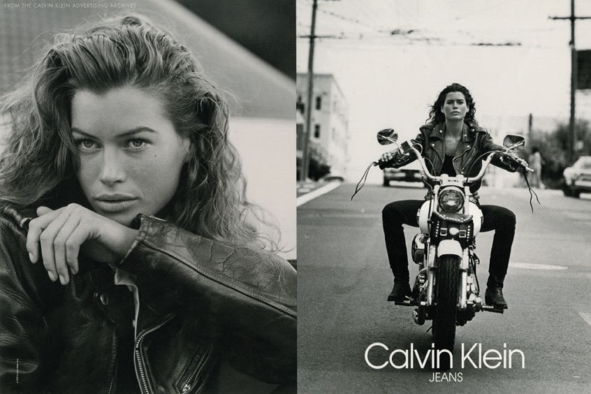carre otis calvin klein 1991, photo by bruce weber