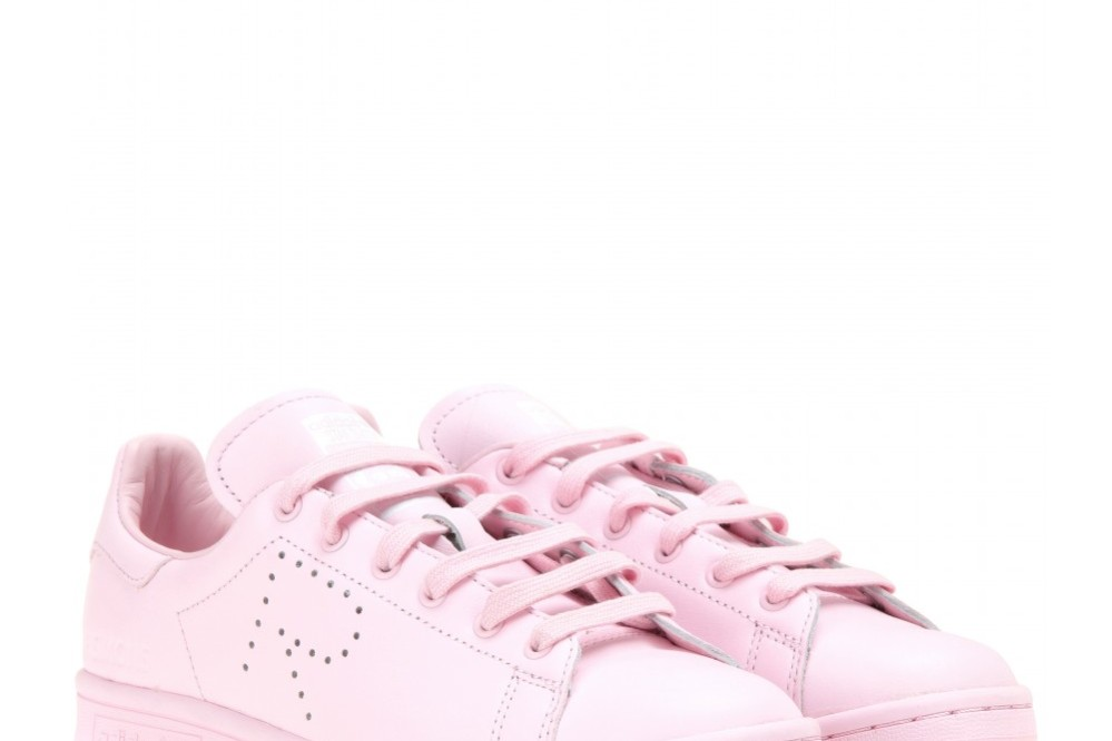 Adidas pink sneaker by Raf Simons
