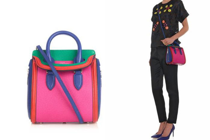 Alexander McQueen multicolor bag