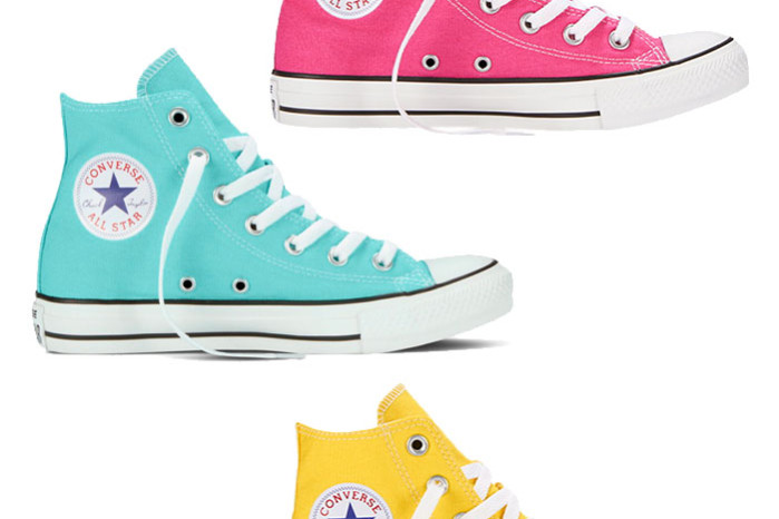 Converse high top in colors