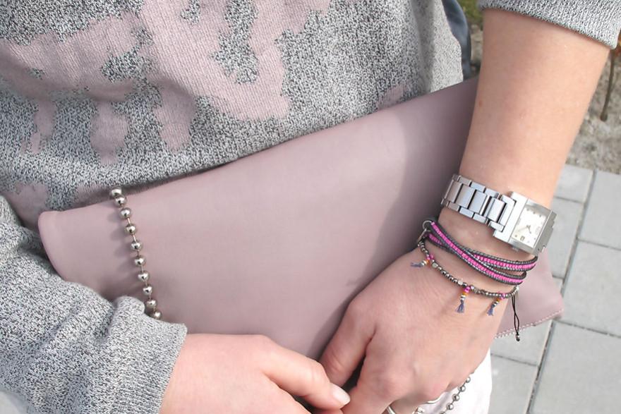 dhipt bracelets pink