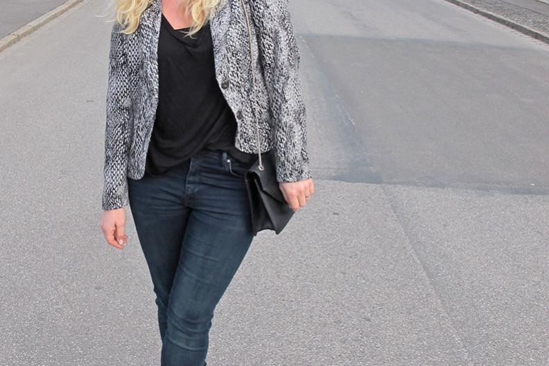 High Waisted jeans Denim Hunter jacket