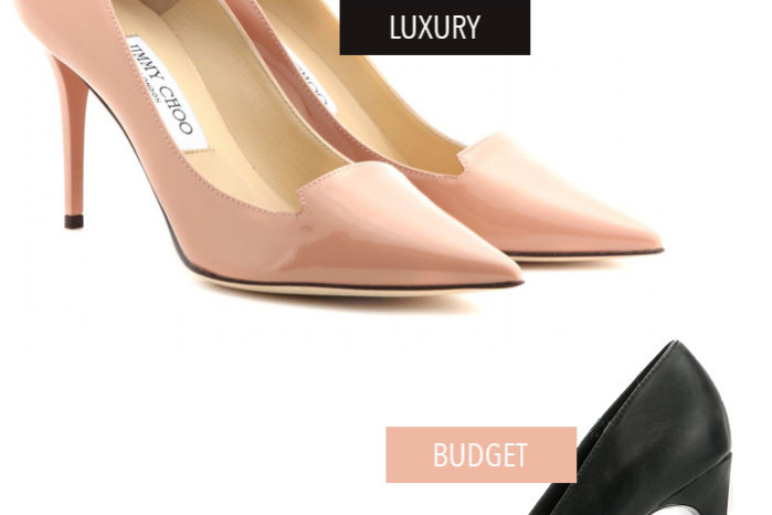 Jimmy choo avril pumps mango lookalikes