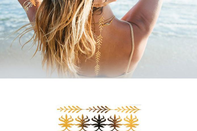 Lulu dk gold tattoos