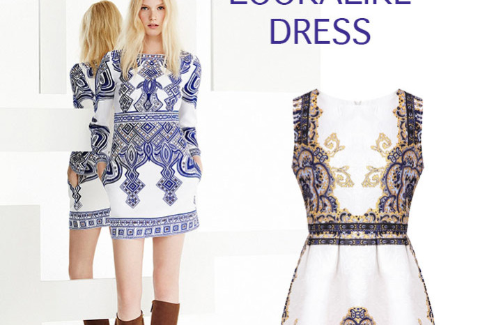 Pucci lookalike dress from Sheinside