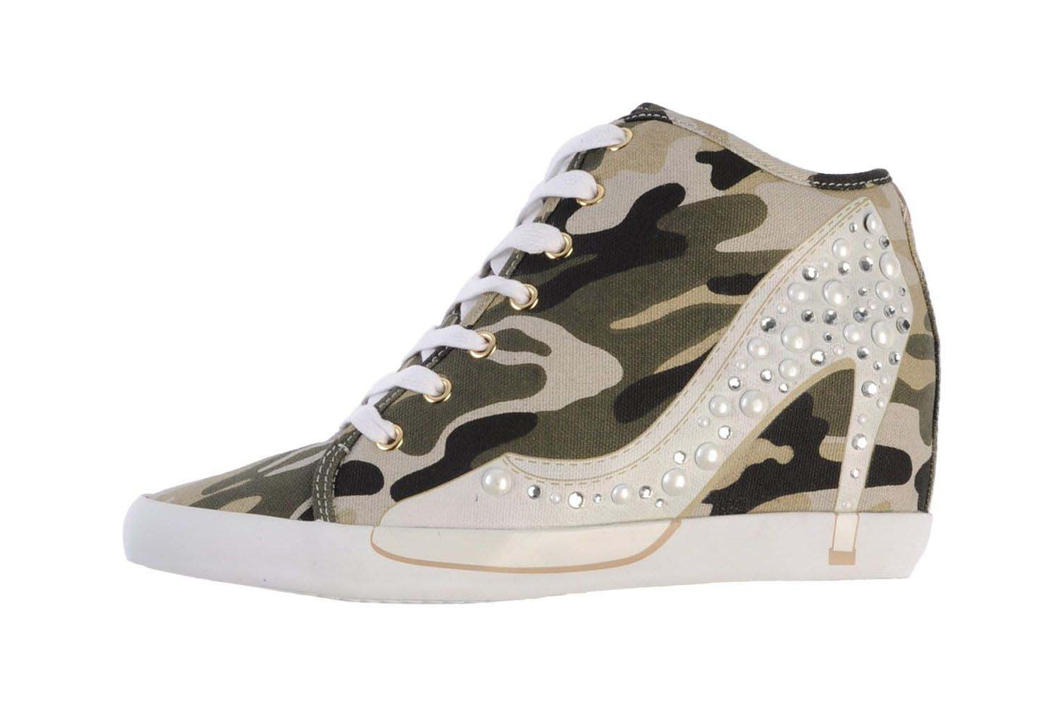olo wedge sneakers