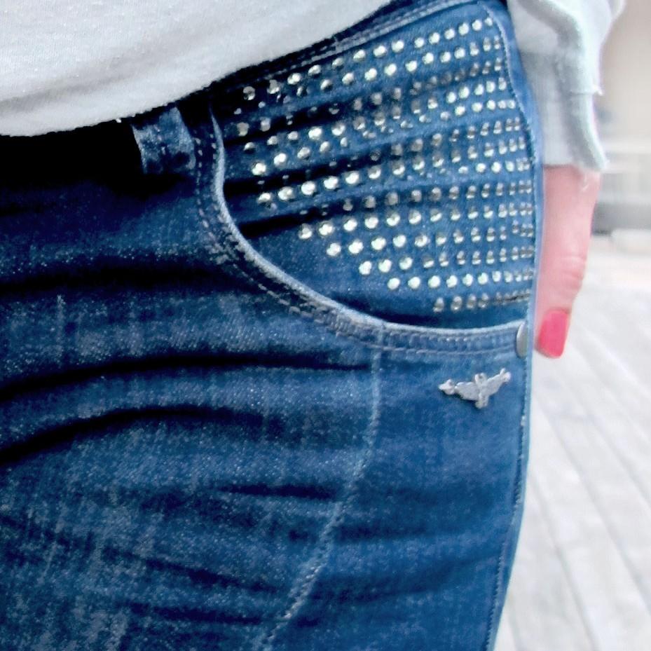 Bling jeans denim hunter detail pocket