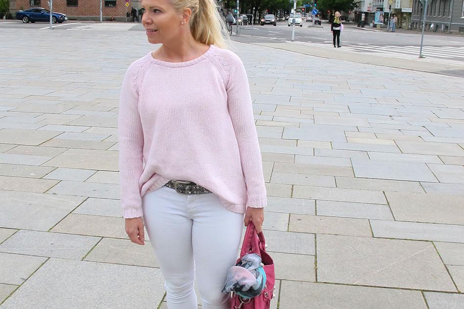 pink sweater gina tricot