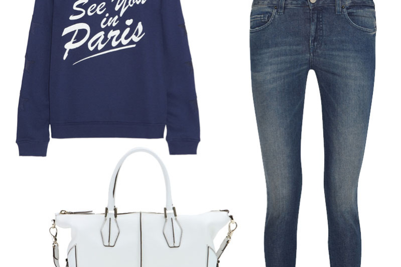 See you in Paris sweatshirt from Zoe Karssen
