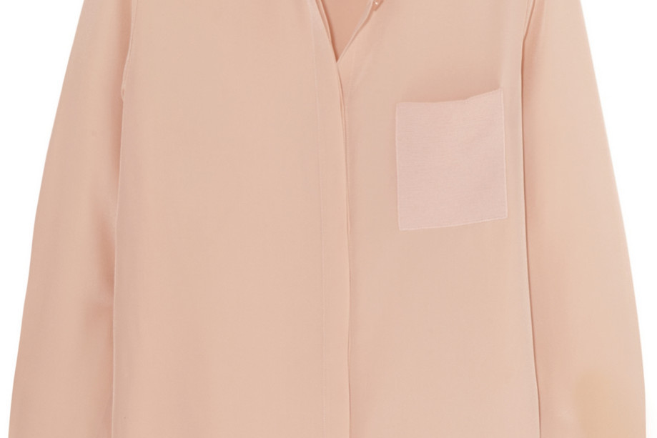 Alice Olivia blush blouse