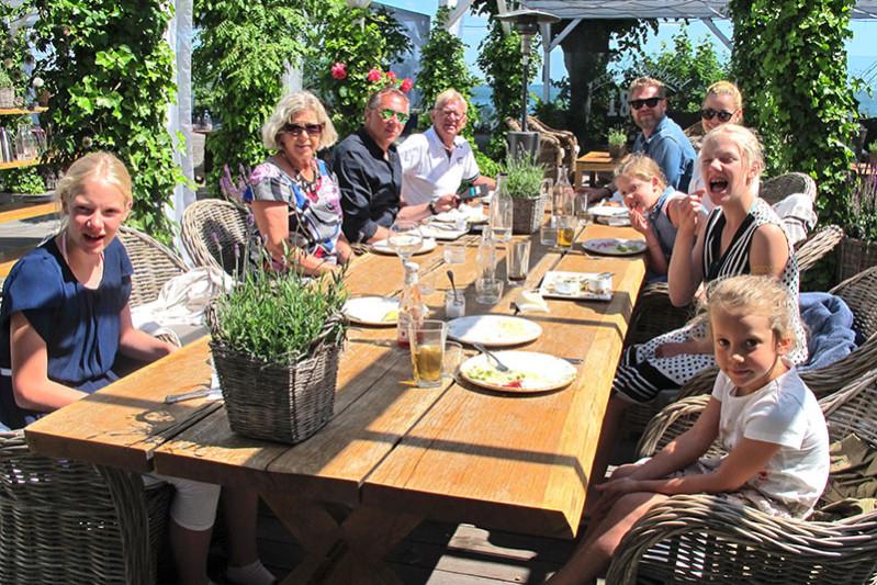 familje lunch på ystad saltsöbad