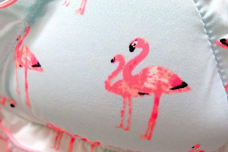 flamingos tryck