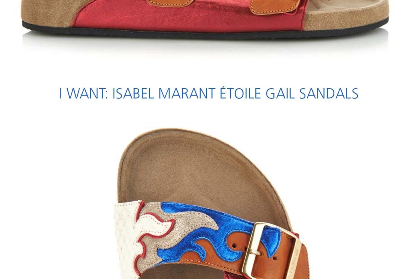 isabel marant etoile gail sandals
