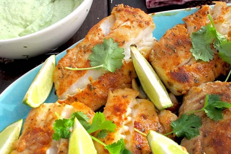 torskryggfile till fish tacos