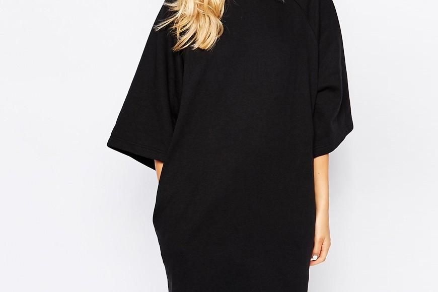 oversize klänning från Monki