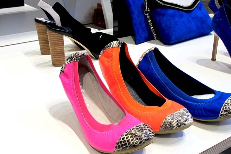 stylesnob ballerinas bright colors