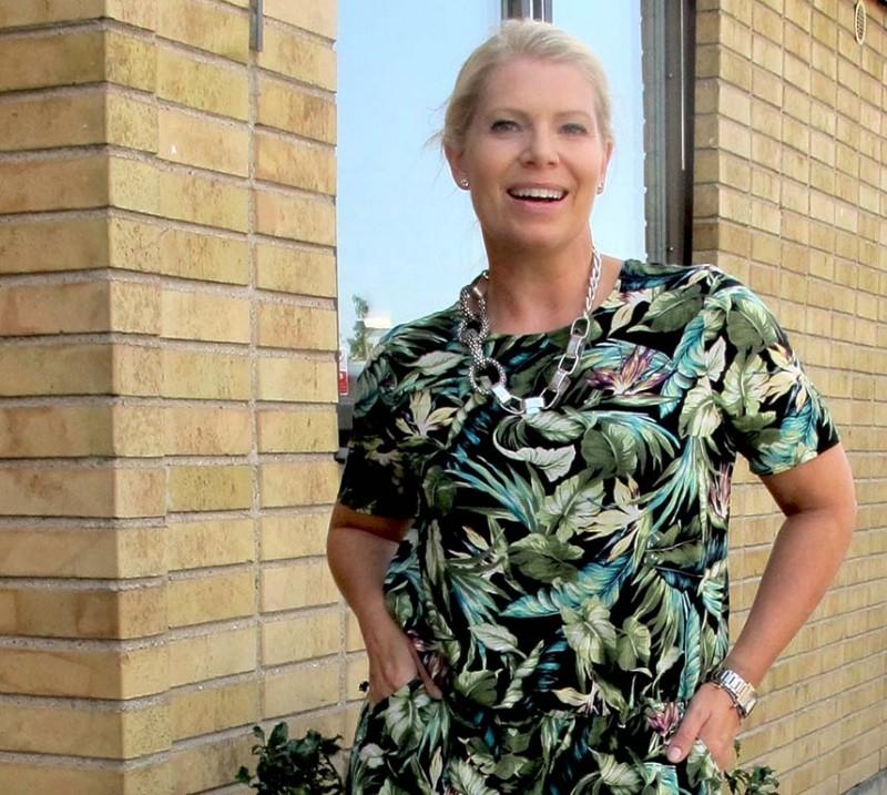 Jungle jumpsuit från Gina Tricot