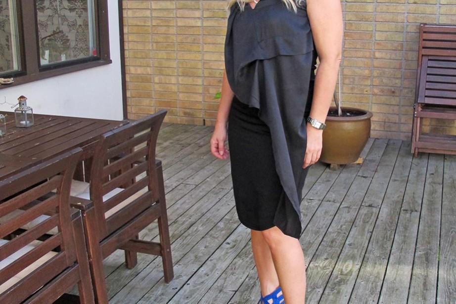 ldb favorit, svart klänning från Denim Hunter