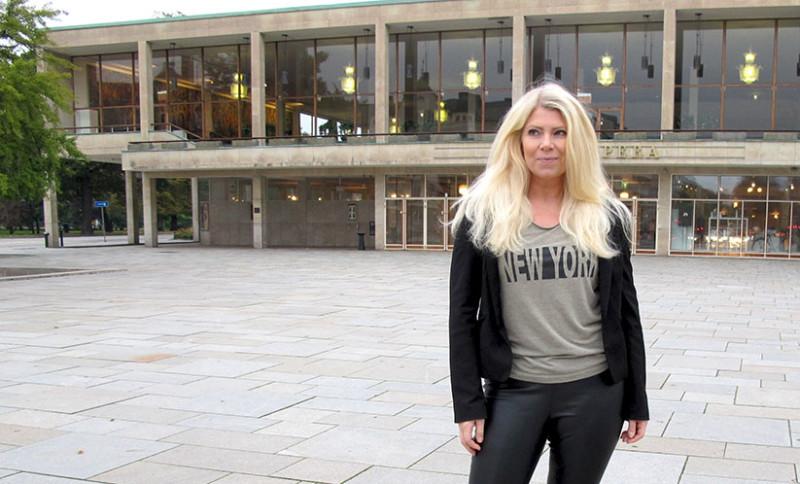 new york t-shirt denim hunter